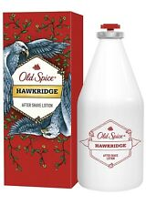 "Old Spice ""Hawkridge"" After Shave Lotion, Glass Bottle, 3.38 OZ, EXP 03/22"
