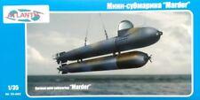 German Marder Mini Submarine 1-35 Plastic Kit Atlantis