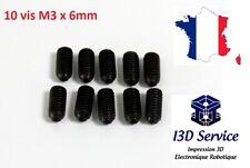 DIN 7991 // ISO 10642 en acier inoxydable A2 Lot de 10 vis /à t/ête frais/ée /à six pans creux V2A ISK
