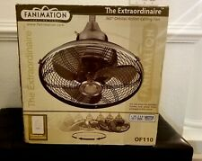 Fanimation Extraordinaire - 18 inch - Pewter with Wall Control - 220v -...