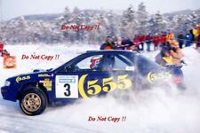 Didier AURIOL SUBARU IMPREZA 555 RALLY svedese fotografia 1996 1