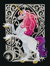 UNICORN BEAUTY NEW DESIGN SET OF 2 BATH HAND TOWELS EMBROIDERED BY LAURA