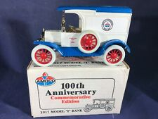 U2-76 ERTL 1:25 SCALE DIE CAST BANK - 1917 FORD MODEL T - AMOCO OIL COMPANY