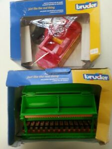 Bruder Farm Scale 1:16 Bundle of 2 Boxed Accessories Sets 02238, 02236 Toy #768