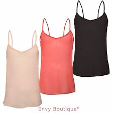 Chiffon V Neck Sleeveless Blouses for Women