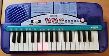 Casio LK-6 32 key lighted key system mini keyboard vintage TESTED