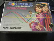 NOS Brand New Mattel Aquarius Biorhythms Game Cartridge