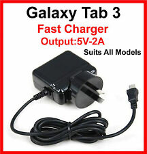 Samsung Galaxy Tab 3  10.1 8.0 7.0  AC Adapter Charger Suits All Models 5V-2A