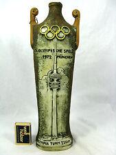 Vintage italian pottery bottle television tower München Olympische Spiele 1972
