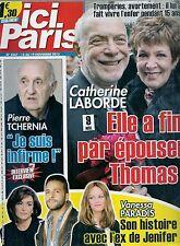ICI PARIS N° 3567--CATHERINE LABORDE & THOMAS/PIERRE TCHERNIA/PARADIS ET JENIFER