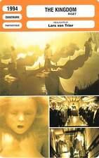 FICHE CINEMA : THE KINGDOM 1 & 2 - Järegård,Rolffes,Lars Von trier 1994/7 Riget