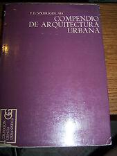 COMPENDIO DE ARQUITECTURA URBANA - P.D. Spreiregen - SC - 1971 - EUC!