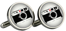 Leica M8 Silver Cufflinks and Gift Box