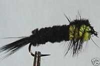 10x Mouche de peche Nymphe Montana  H8/10/12/14  lot