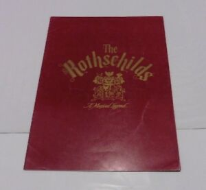 """The Rothchilds"" Vintage Theatre Programme, 1971"