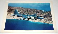 US Navy Neptune P2V7 - Original Vintage 1960's  Lockheed Promotional Poster