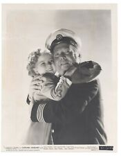 Shirley Temple 1936 Captain January Original 8x10 Portrait Guy Kibbee