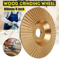 100x16mm Carbide Wood Sanding Carving Shaping Disc Angle Grinder Grinding Wheel
