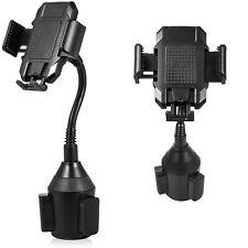 Universal Cell Phone Mobile Cup Holder Stand Cradle Adjustable Car Trucks Mount