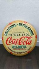 Coca Cola Coke Round Keg Label Advertising Vintage Retro Style Metal Tin Sign FS