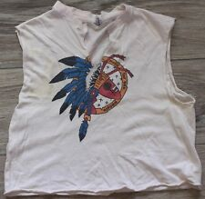 Rare 1981 Vintage Adam and the Ants Ant Music for Sex People Tour Tank Top Shirt
