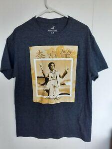 Bruce Lee Size M Medium Men's T-shirt Tee Tshirt Peace Sign Karate Kung Fu