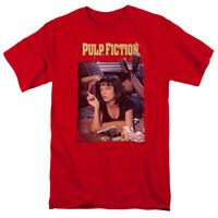 Pulp Fiction MOVIE POSTER Red Licensed Adult T-Shirt All Sizes