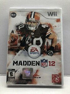 Madden NFL 12 (Nintendo Wii, 2011) New Factory Sealed - Free Ship