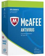 McAfee AntiVirus Plus 2017- 1 PC - 2 Year Subscription- Download Version