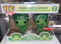Green Giant & Sprout 2 Pack Target Exclusive Sdcc Debut Funko Pop