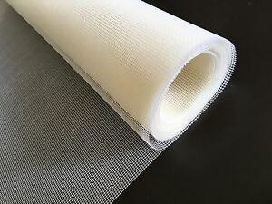White Quality Fiberglass Insect Mesh W1.2m Fly Mosquito Spider Midge Wasp