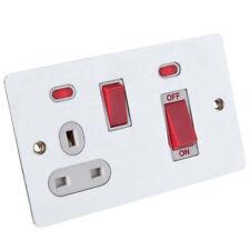 Materiales eléctricos de bricolaje enchufe color principal rojo