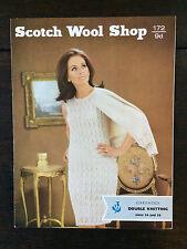 "SCOTCH LANA shop Knitting Pattern: Ladies Lacy Abito Cardigan, DK, 36-38"", 172"