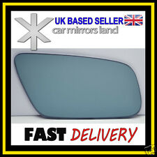 Right Driver Wing Car Mirror Glass Blue Convex AUDI A3 A4 A6 A8 99-03