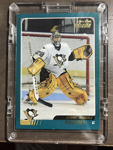 2003-04 O-Pee-Chee - #340 Marc-Andre Fleury Rookie Card