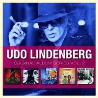 """UDO LINDENBERG & DAS PANIK-ORCHESTER """"ORIGINAL ALBUM SERIES VOL. 2"""" 5 CD NEU"""