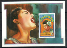 Gambia Stamp - Billie Holiday Stamp - NH