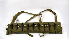 Original Chinese PLA SKS Rifle 7.62mm Type 56 Chest Rig Bandolier Ammo Pouch