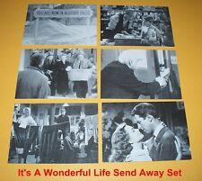 "It's A WONDERFUL LIFE "" Send Away ""   Set"