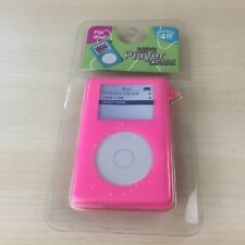PINK ORIGINAL CLASSIC IPOD RUBBER SILICONE PROTECTIVE CASE - BRAND NEW SEALED
