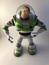 "Toy Story 3 Buzz Lightyear Ultimate Voice Command 14"" RC Remote Control Figure"