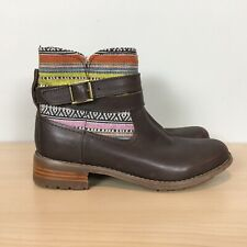 Cat by Caterpillar Bethany Women's Boots Warm Tribal 6 Brown