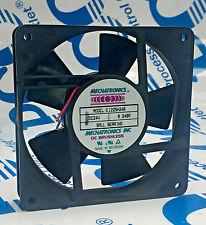 "MECHATRONICS E1225H24B DC BRUSHLESS FAN DC 24V 0.24 AMPS 4 3/4"" X 4 3/4"" X 1"""
