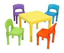 Multicolore 51x51x43.5 cm Liberty House Toys-tavolo per Bambini con 4 (juy)