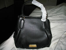 NWT Marc by Marc Jacobs new q fran leather satchel /Shoulder bag BLACK