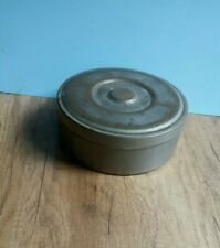 Antique vintage brass spice  box