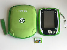 Leappad 2 Leap Frog Game Travel Case Green Gel Skin Leap School Math Game