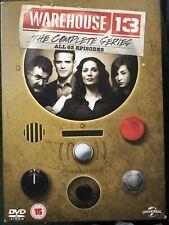 Warehouse 13 Complete Series 63 Episodes 19 Discs .V G Condition Dvd Set