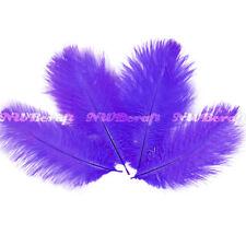 Purple Ostrich Feather Fluffy Wedding Costume Party Centerpiece Craft Deco