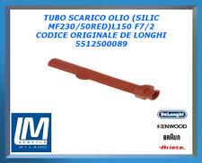 TUBO SCARICO OLIO (SILIC MF230/50RED)L150 F7/2 5512500089 DE LONGHI ORIGINALE